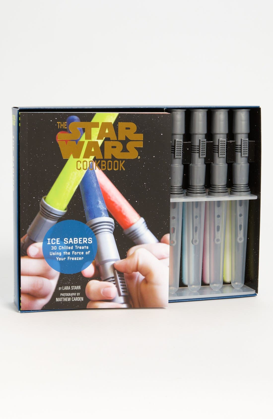 Main Image - 'Star Wars™ Cook Book' Lightsaber Ice-Pop Molds & Cookbook