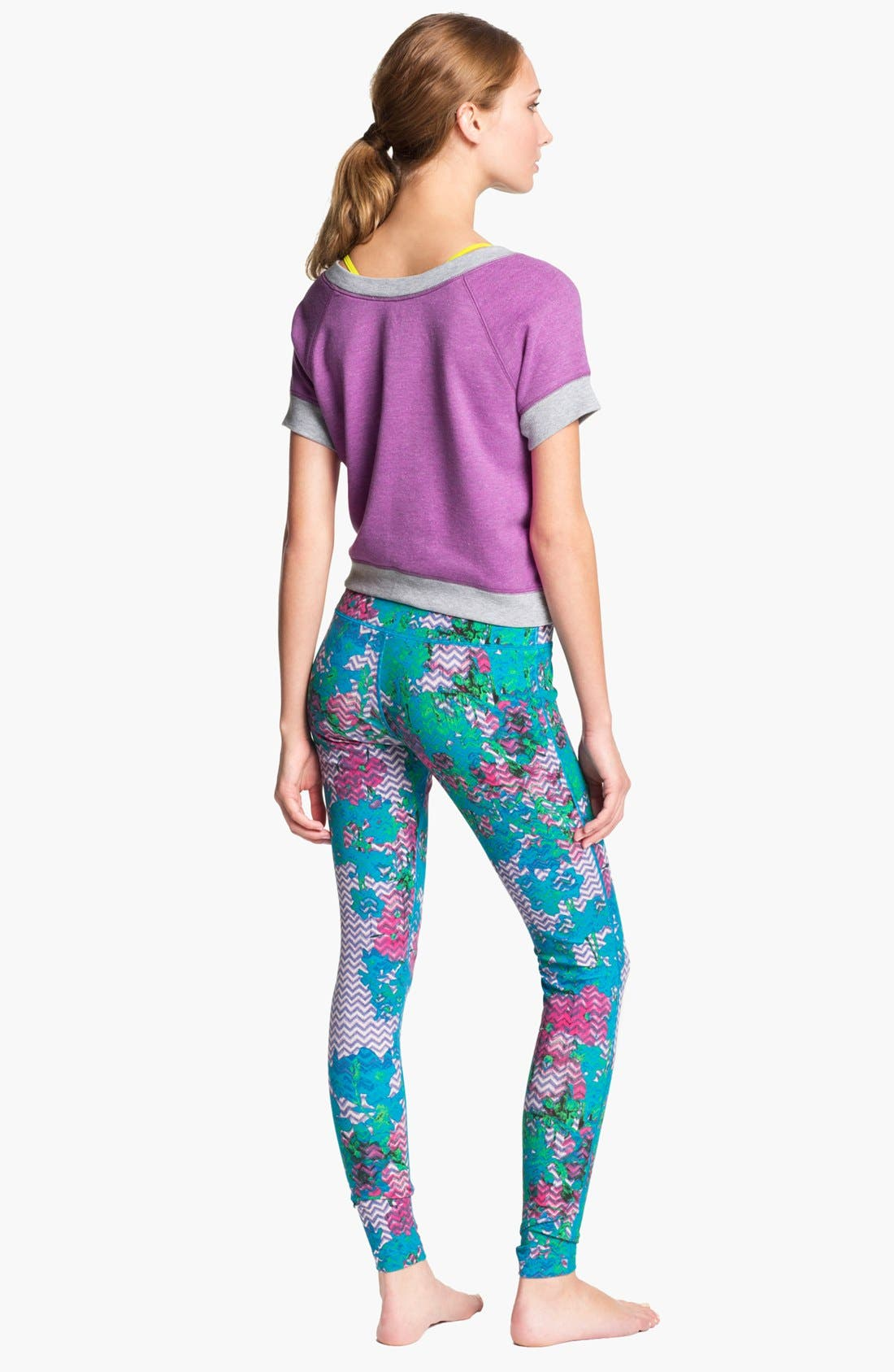 Alternate Image 4  - Unit-Y Print Leggings
