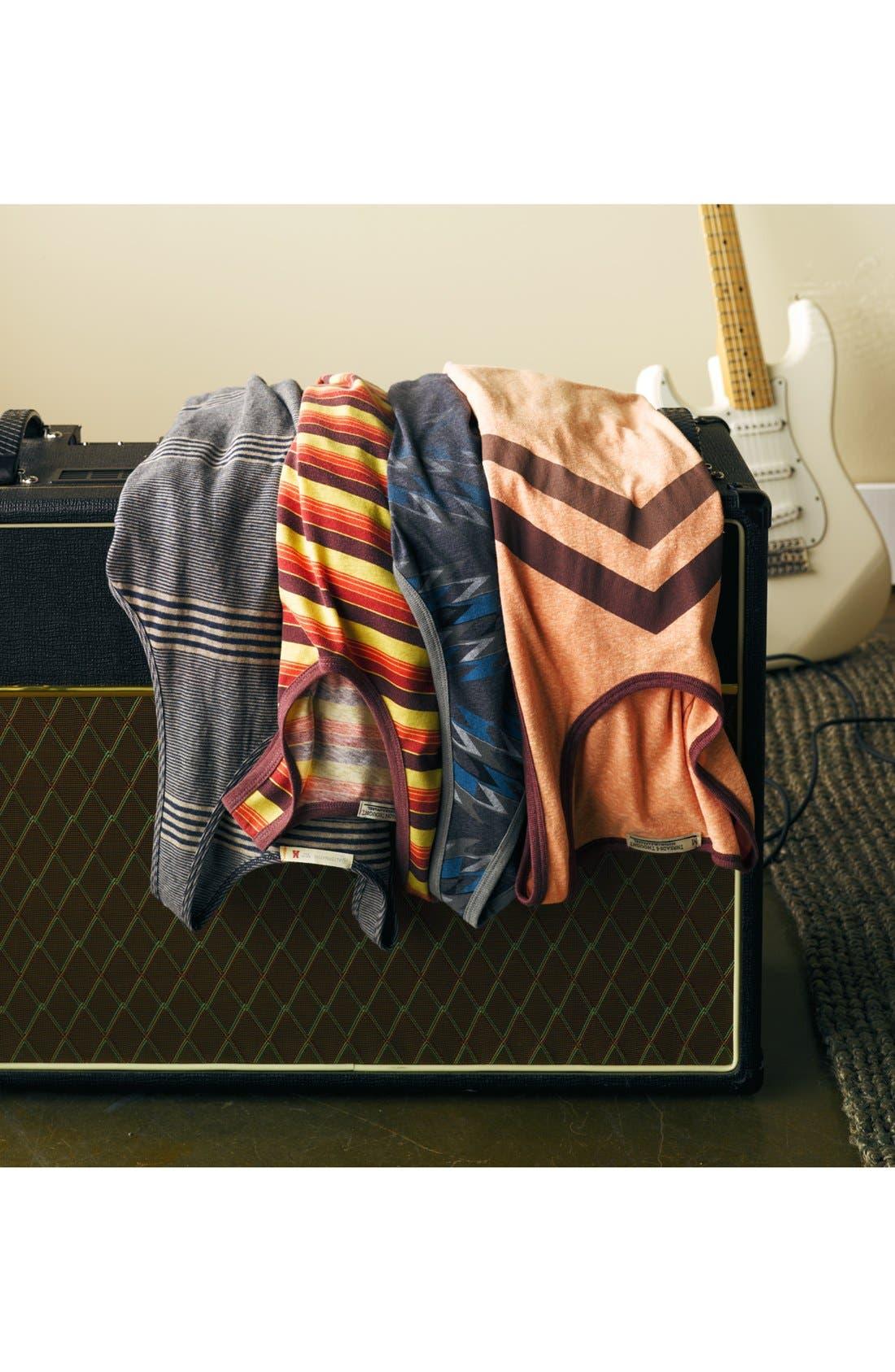 Alternate Image 4  - Threads for Thought Chevron Stripe Print Tank Top