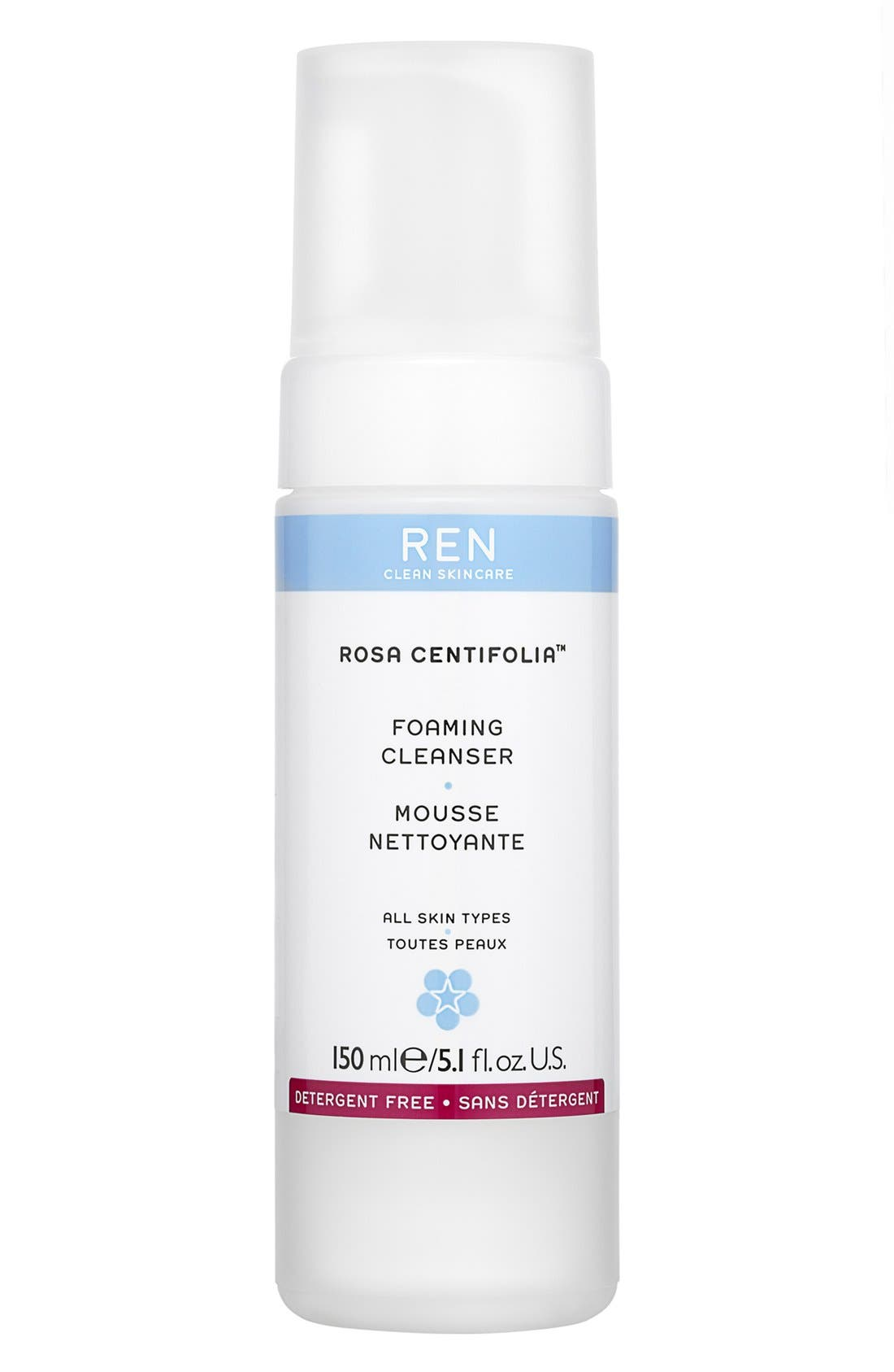 SPACE.NK.apothecary REN Rosa Centifolia™ Foaming Cleanser