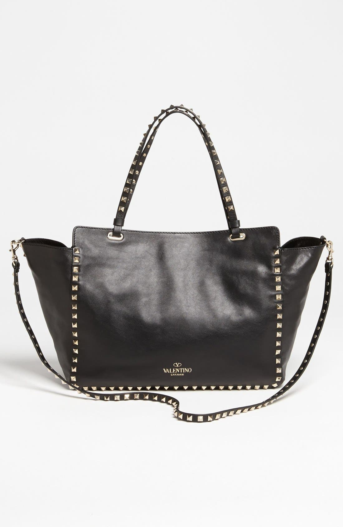 Alternate Image 4  - Valentino 'Rockstud - Classic' Double Handle Tote