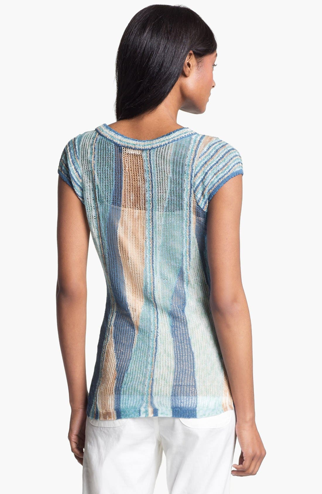 Alternate Image 3  - Nic + Zoe Wave Stitch Sweater