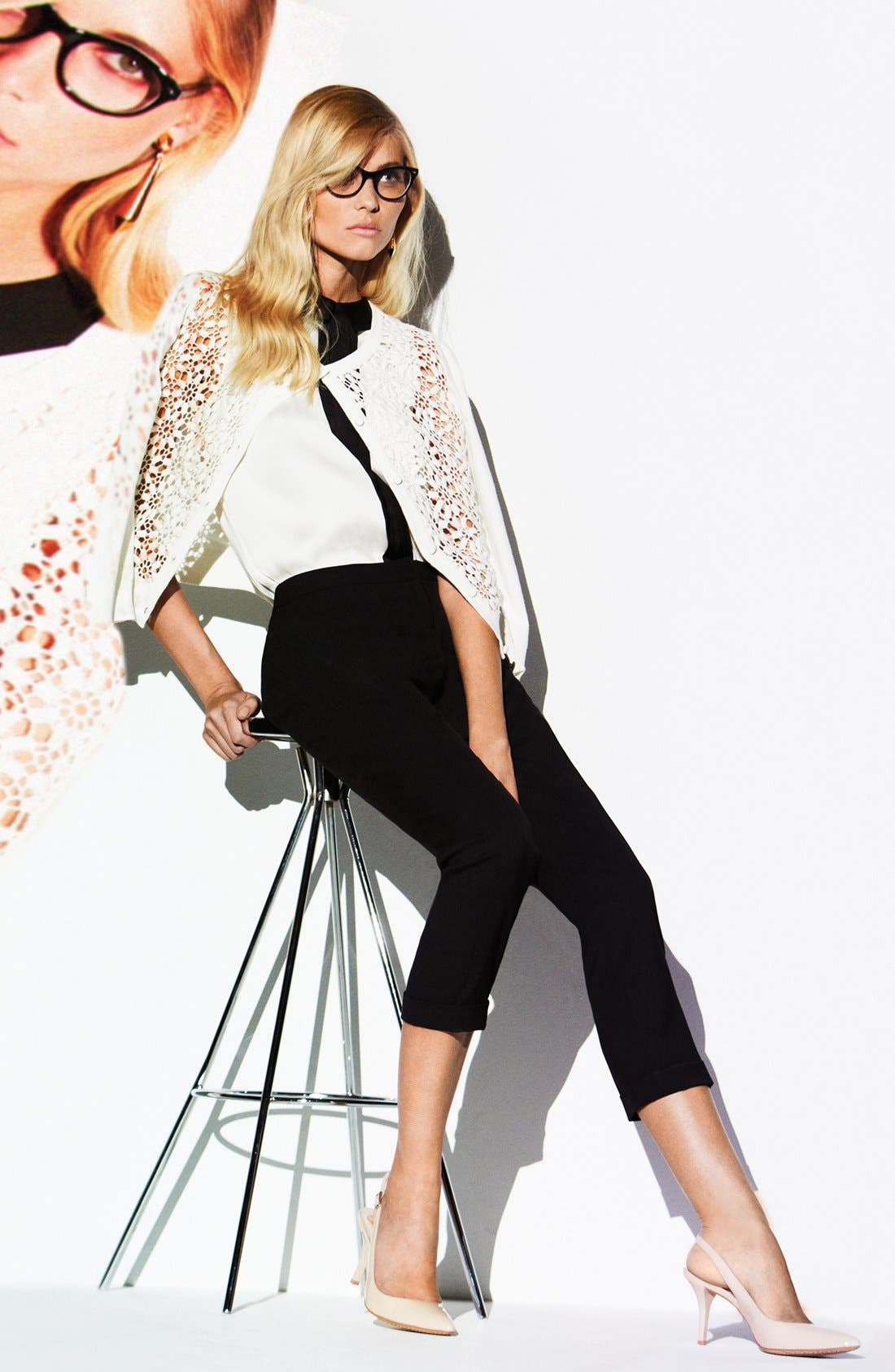 Alternate Image 6  - Vince Camuto Cuff Ankle Pants