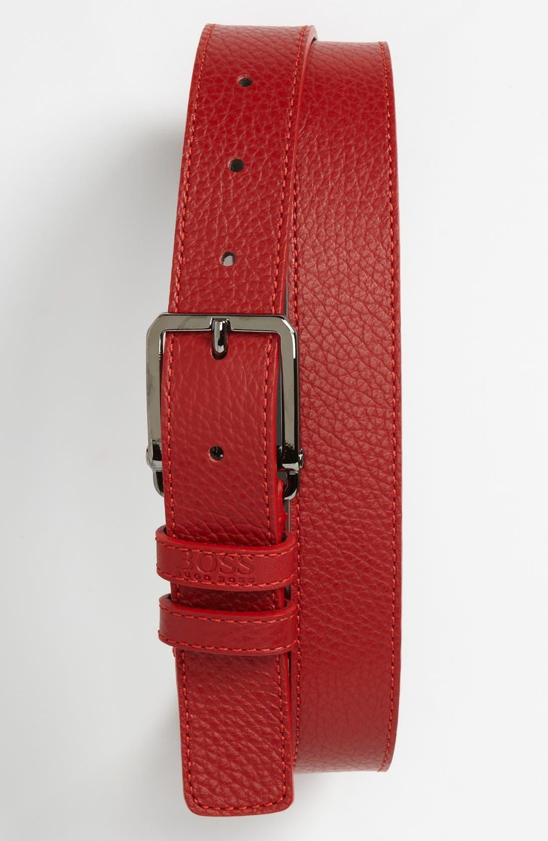 Alternate Image 1 Selected - BOSS HUGO BOSS 'Crosby' Belt
