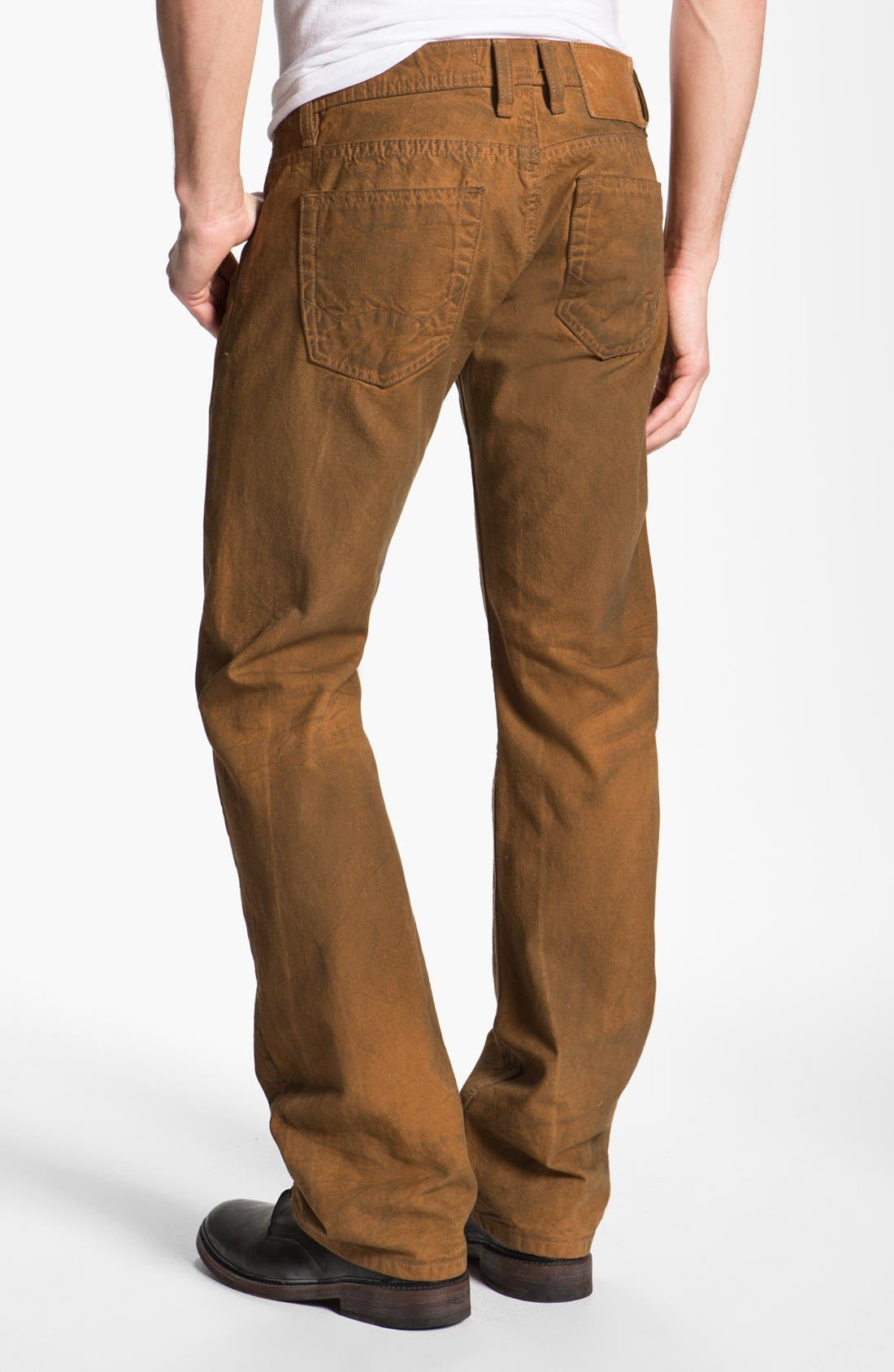 Main Image - Cult of Individuality 'Hagen' Relaxed Straight Leg Jeans (Molasses)