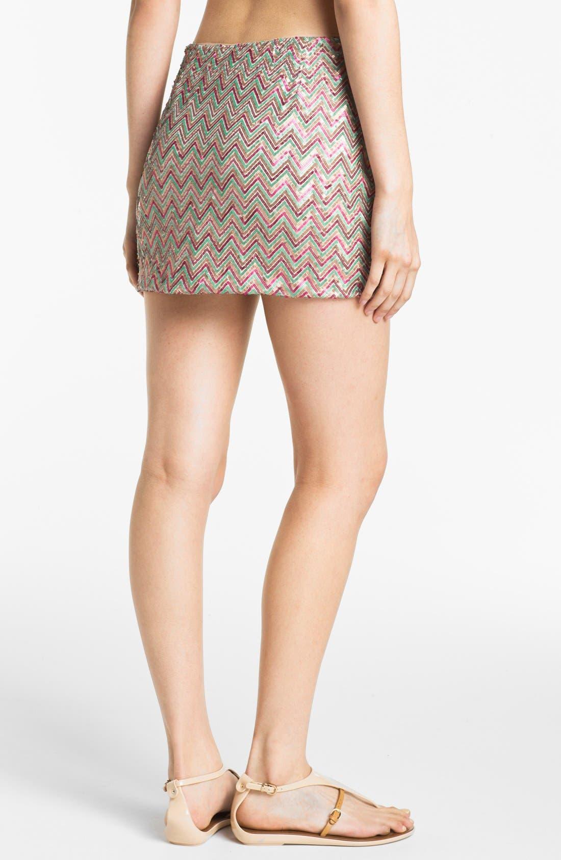 Alternate Image 2  - Ella Moss Sequin Skirt