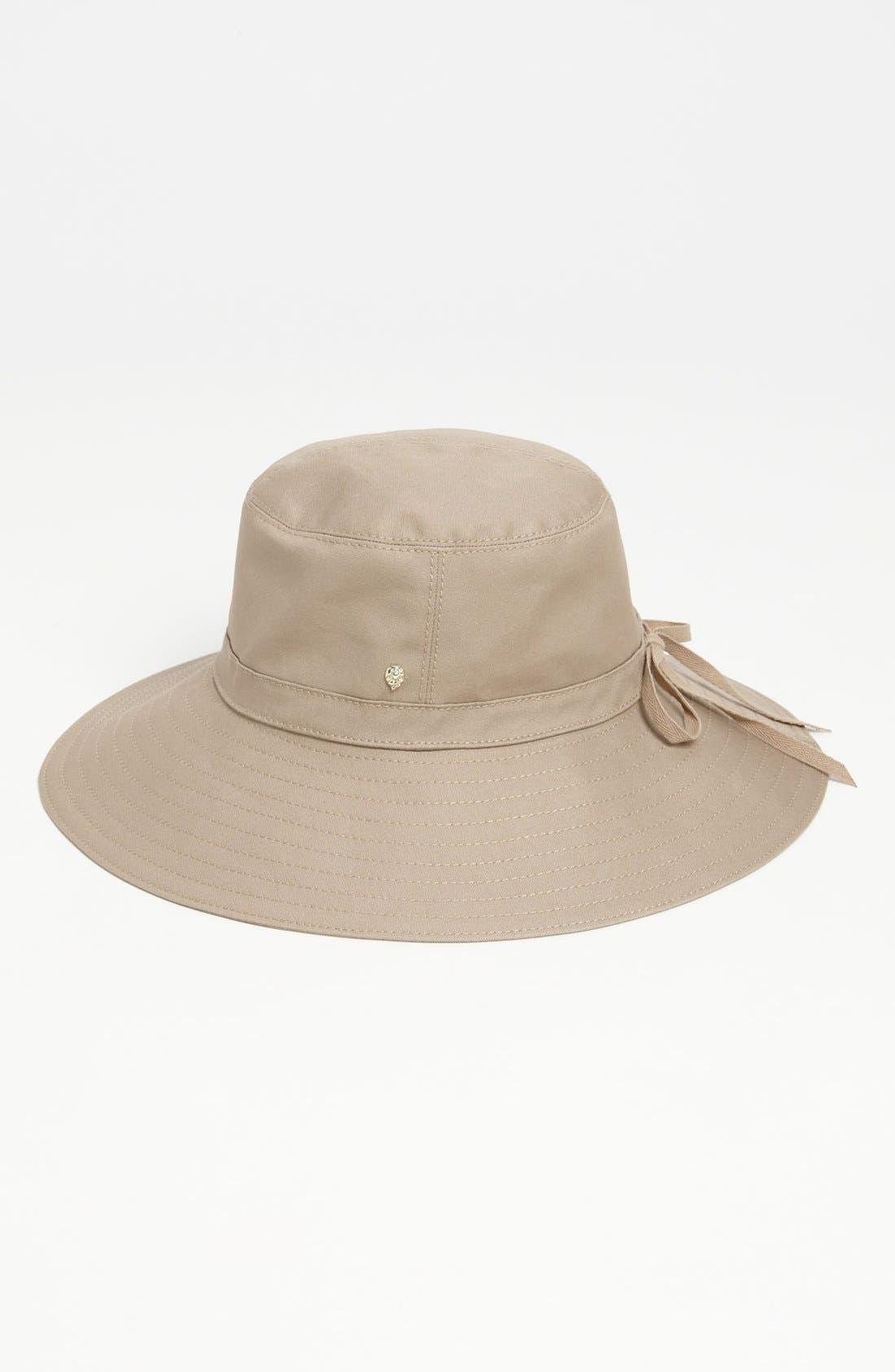 Alternate Image 1 Selected - Helen Kaminski 'Istria' Canvas Sun Hat