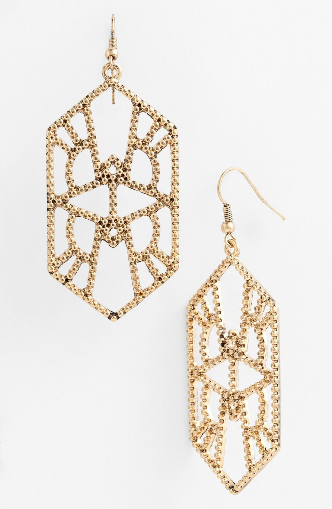 Alternate Image 1 Selected - Carbon Copy 'Feisty Fringe' Drop Earrings