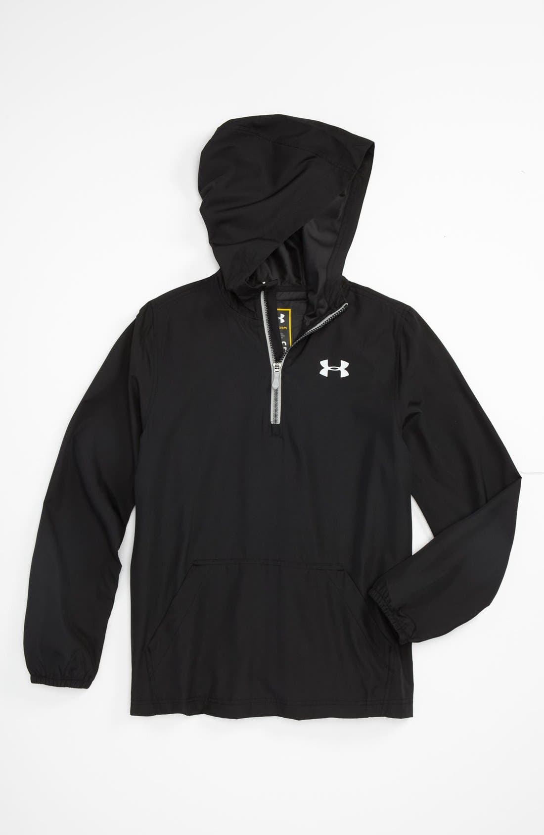 Alternate Image 1 Selected - Under Armour 'Droplets' Hoodie (Big Boys)