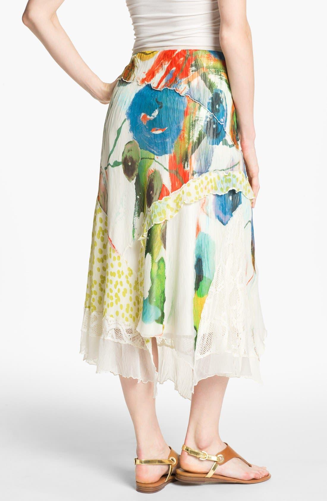 Alternate Image 2  - Komarov Mix Print Maxi Skirt