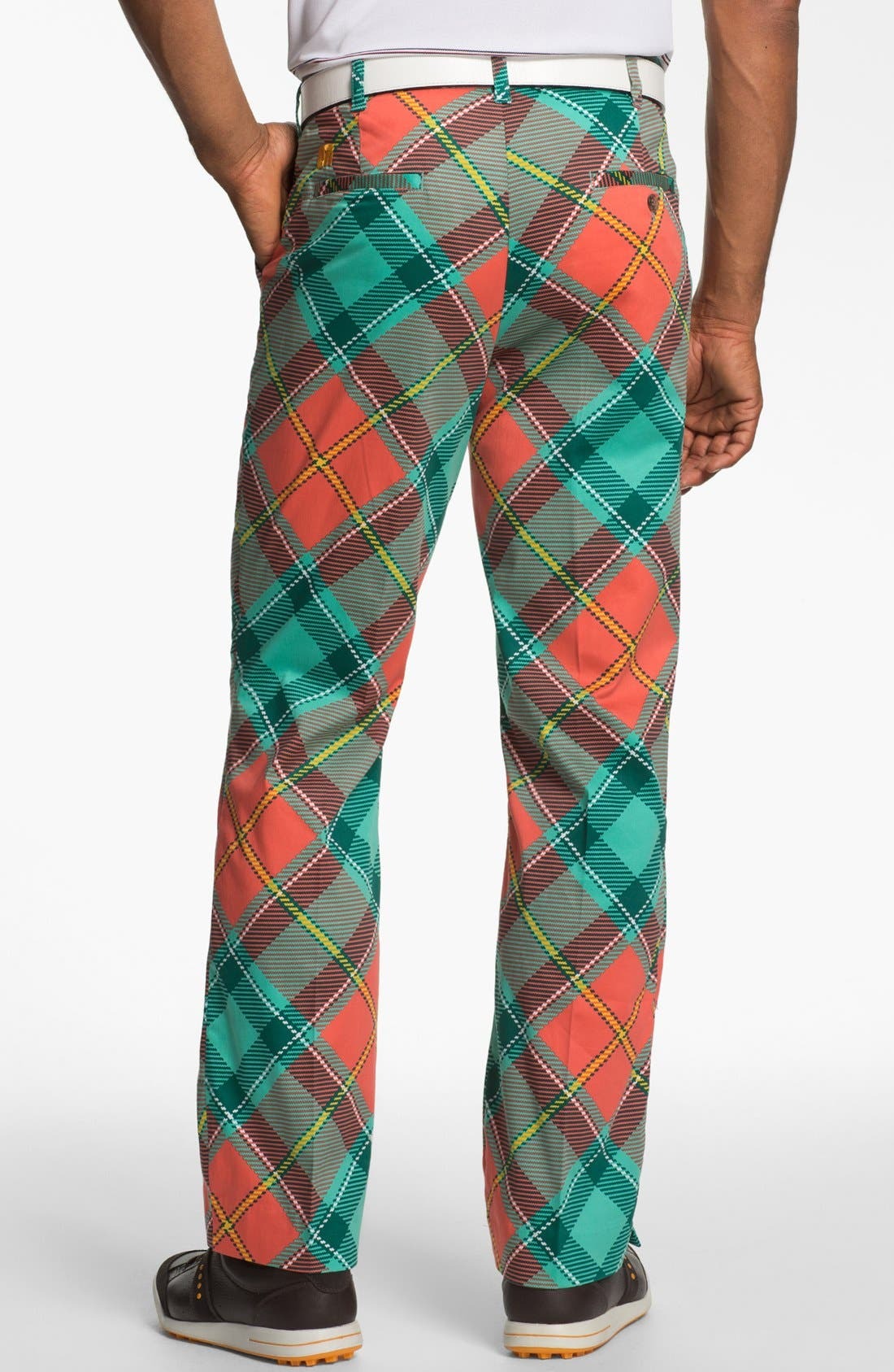 Alternate Image 2  - Loudmouth Golf 'Just Peachy' Golf Pants