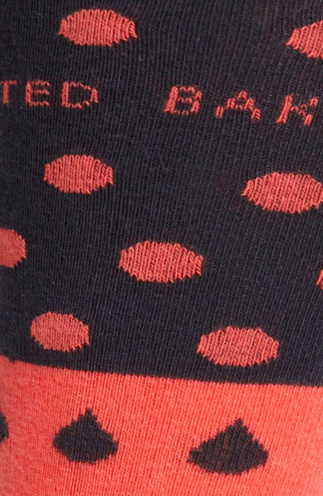 Alternate Image 2  - Ted Baker London Raindrop Socks
