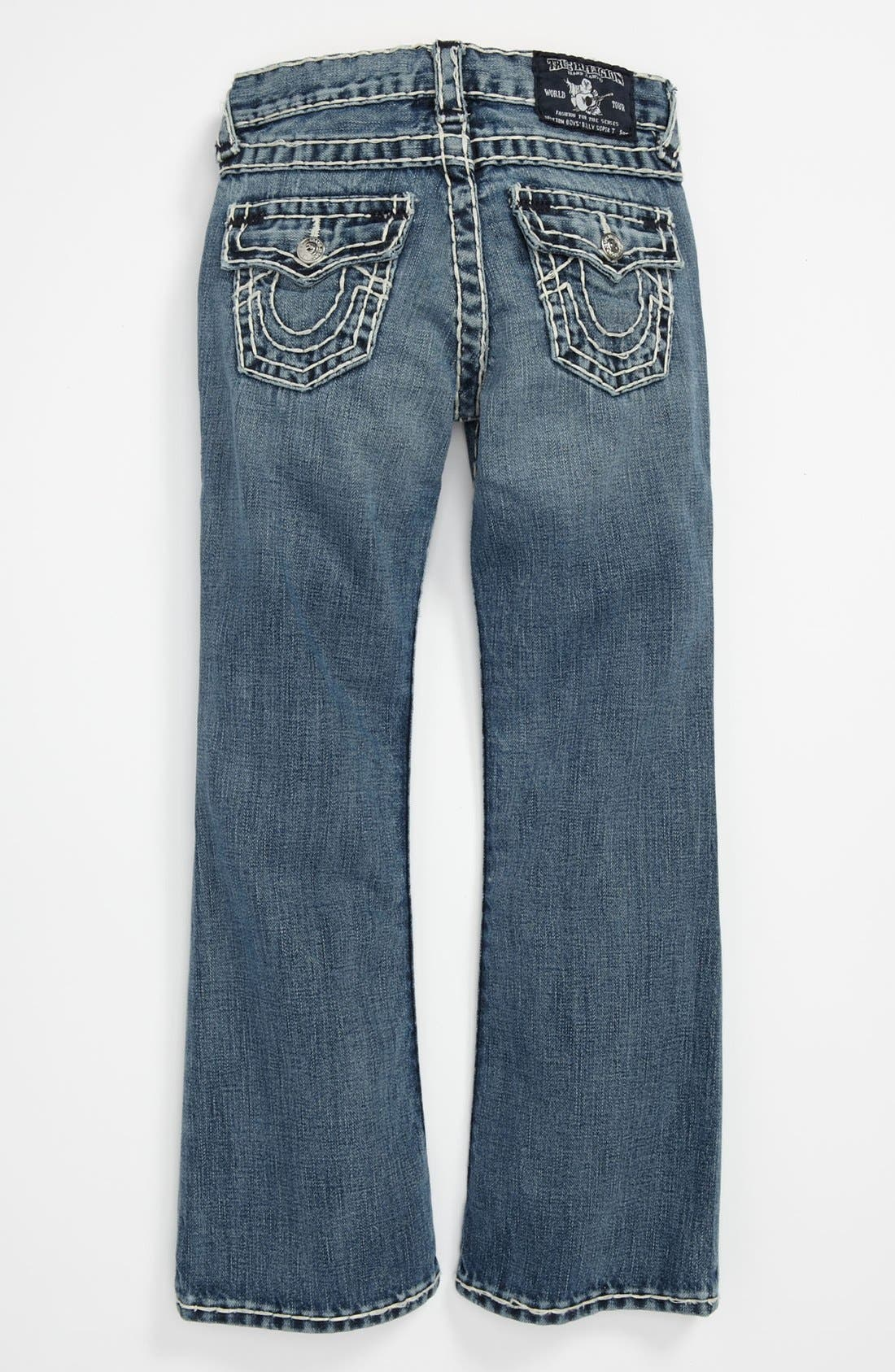 Alternate Image 1 Selected - True Religion Brand Jeans 'Jack' Bootcut Jeans (Big Boys)