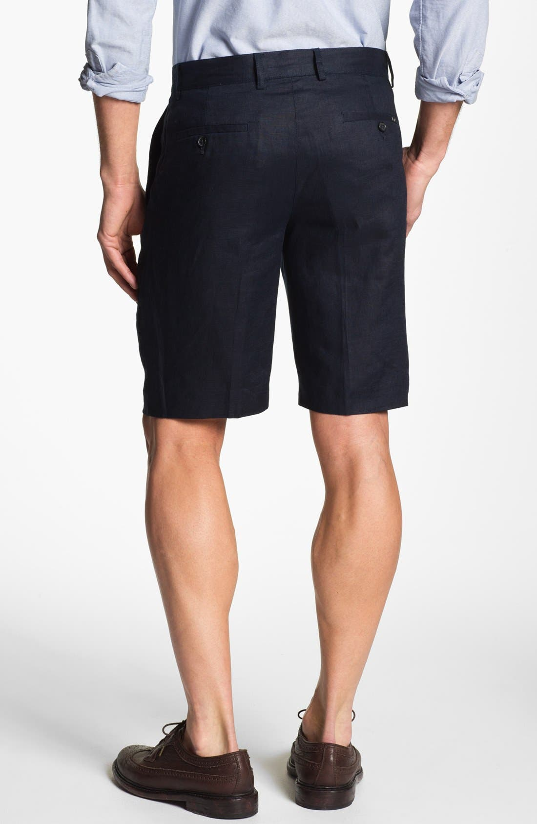 Alternate Image 2  - Michael Kors Linen Shorts