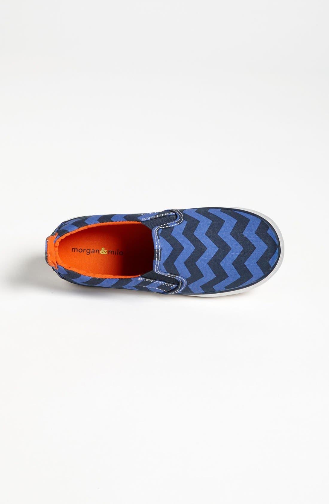 Alternate Image 3  - Morgan & Milo 'Trippy Slippy' Sneaker (Walker, Toddler & Little Kid)