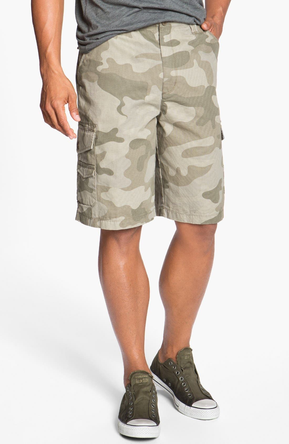 Alternate Image 1 Selected - Quiksilver 'Lost & Found' Cargo Shorts