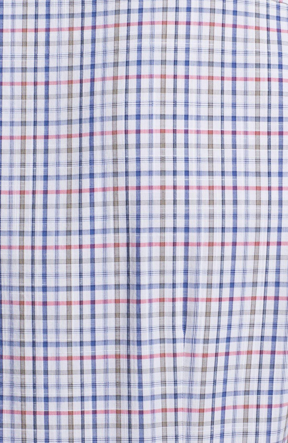 Alternate Image 3  - BOSS HUGO BOSS 'Kenny' Regular Fit Plaid Short Sleeve Sport Shirt