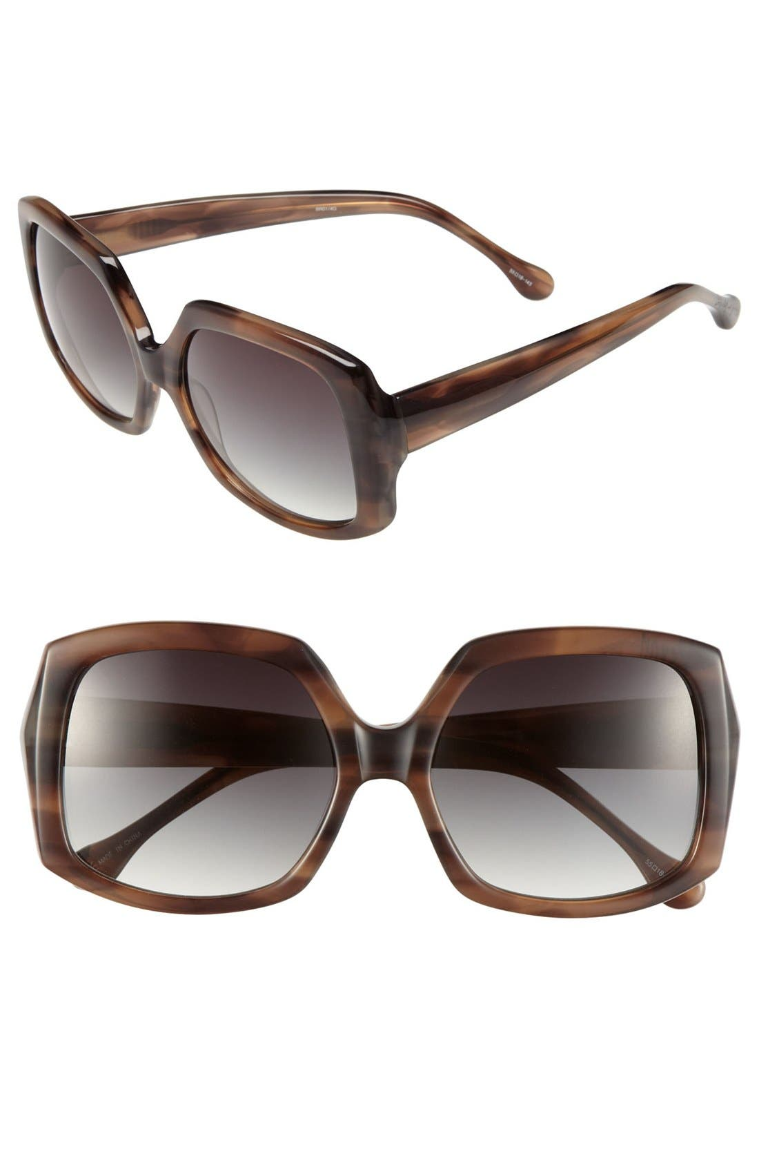 Main Image - Elizabeth and James 'Devon' 55mm Sunglasses