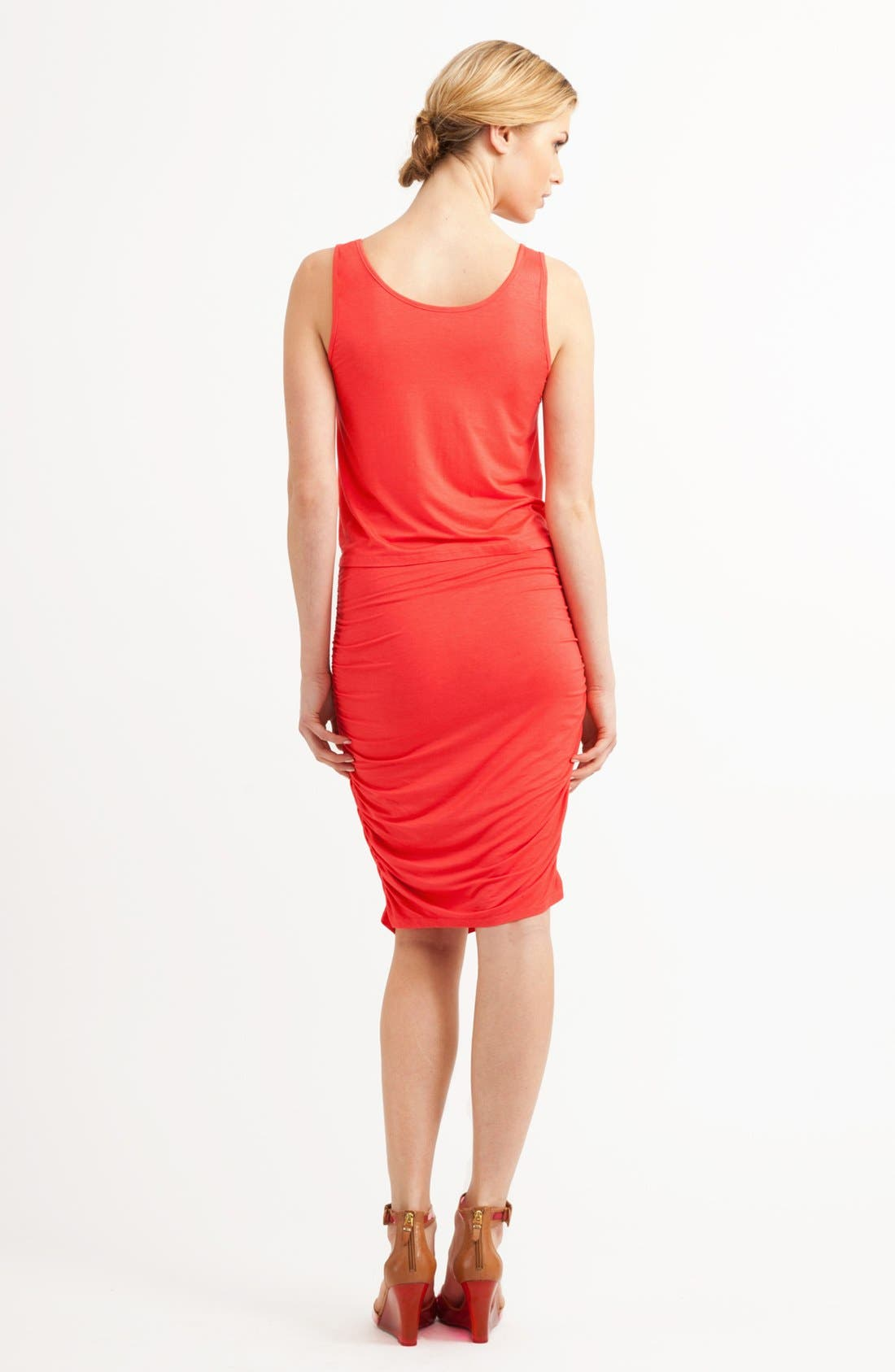 Alternate Image 2  - Three Dots Drape Bodice Tank Dress