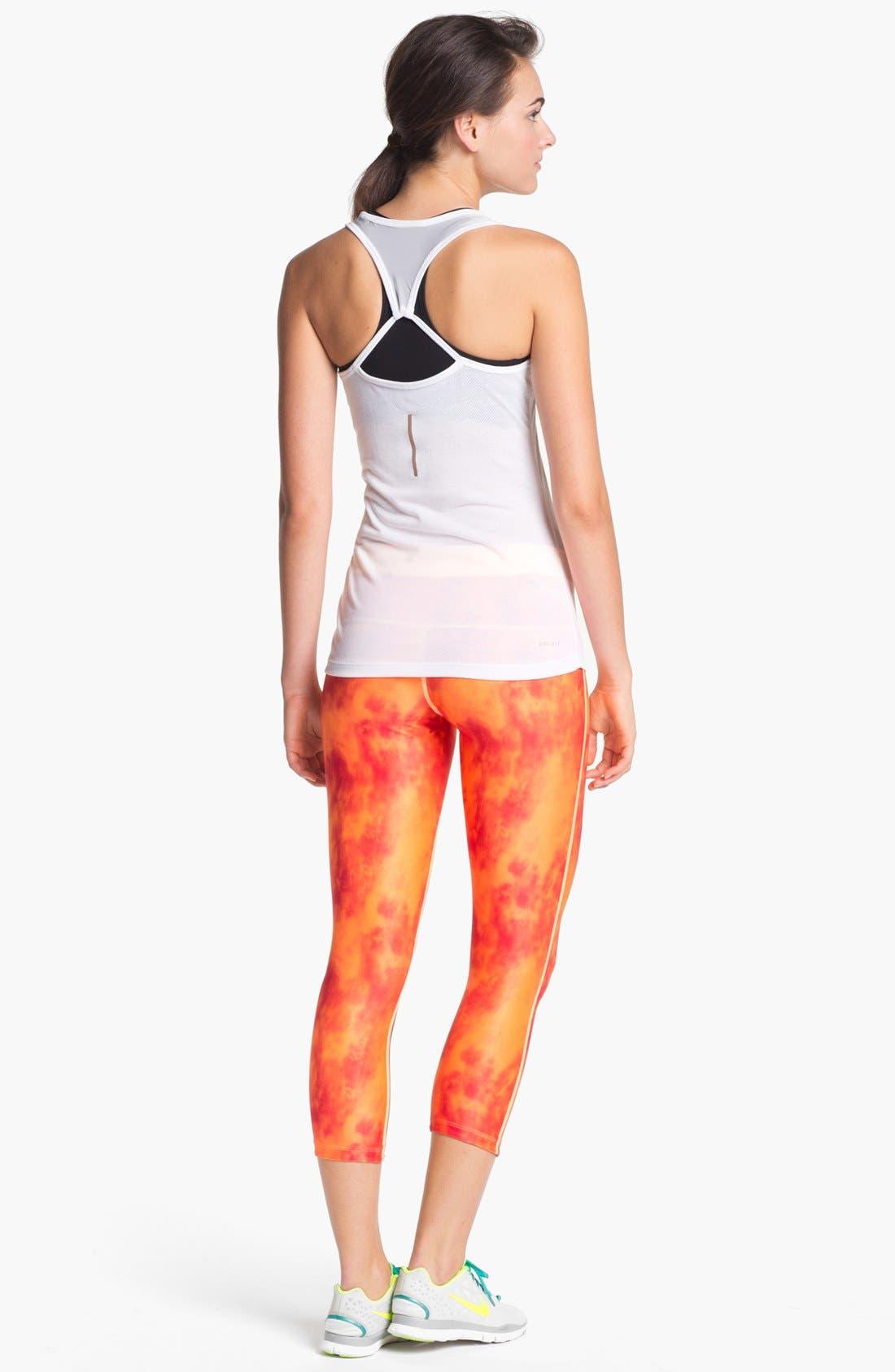Alternate Image 4  - Nike 'Relay' Print Capri Pants