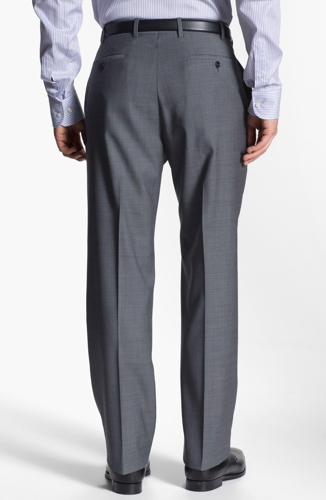 Alternate Image 5  - Armani Collezioni 'Giorgio' Tic Weave Wool Suit