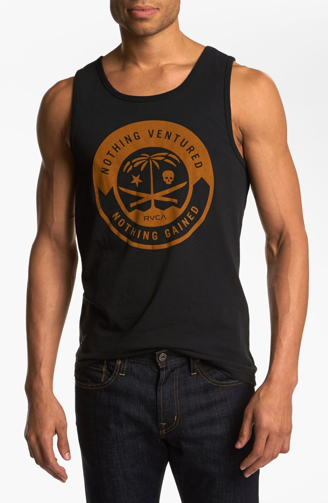 Alternate Image 1 Selected - RVCA 'Korps' Tank Top