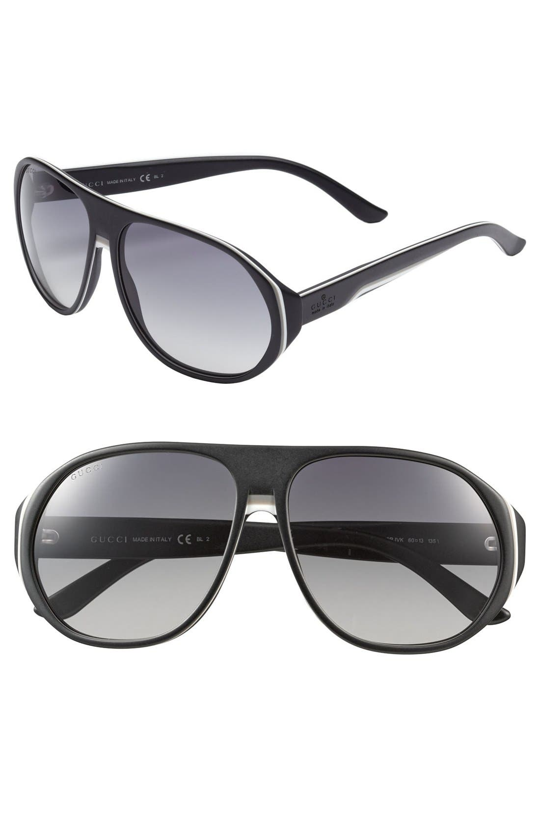 Alternate Image 1 Selected - Gucci '1025' 60mm Sunglasses