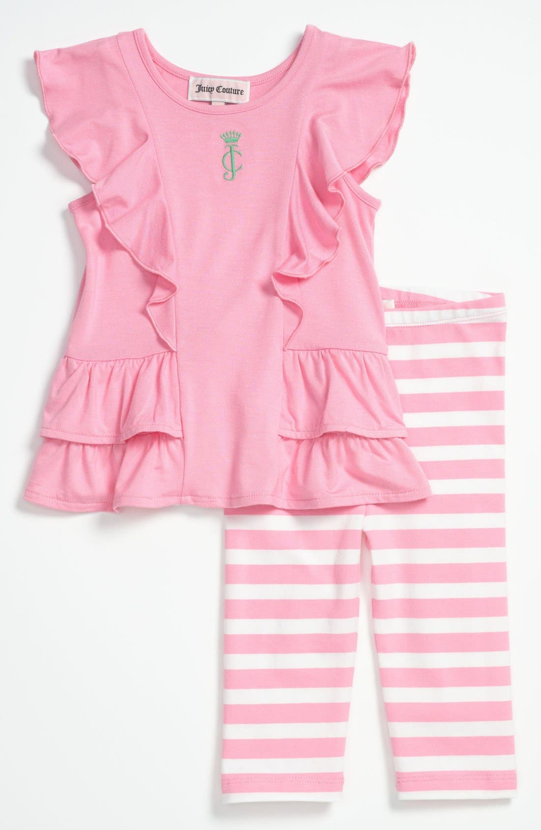 Alternate Image 1 Selected - Juicy Couture Tunic & Leggings (Baby)