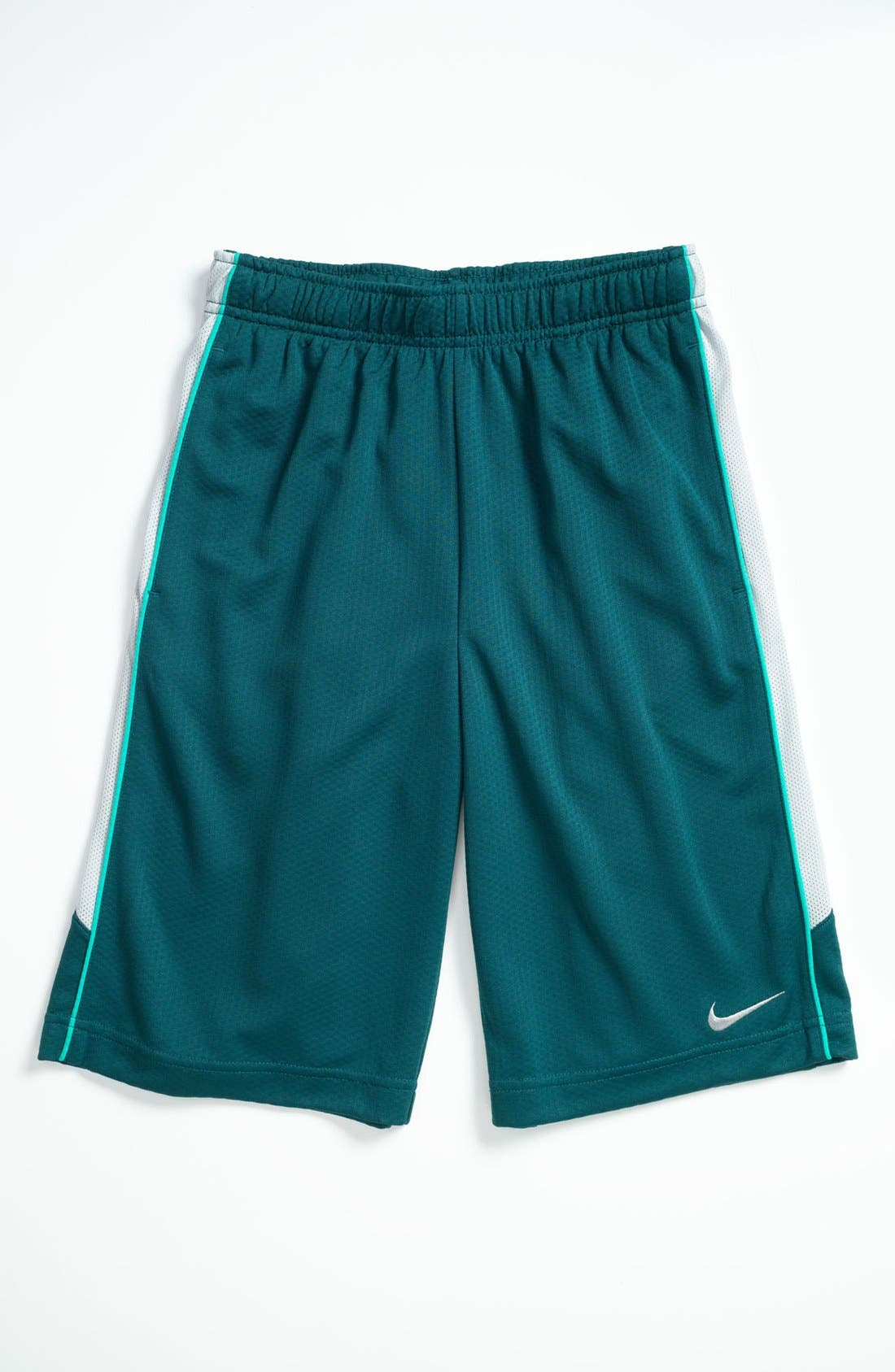 Alternate Image 1 Selected - Nike 'Aceler8' Shorts (Big Boys)