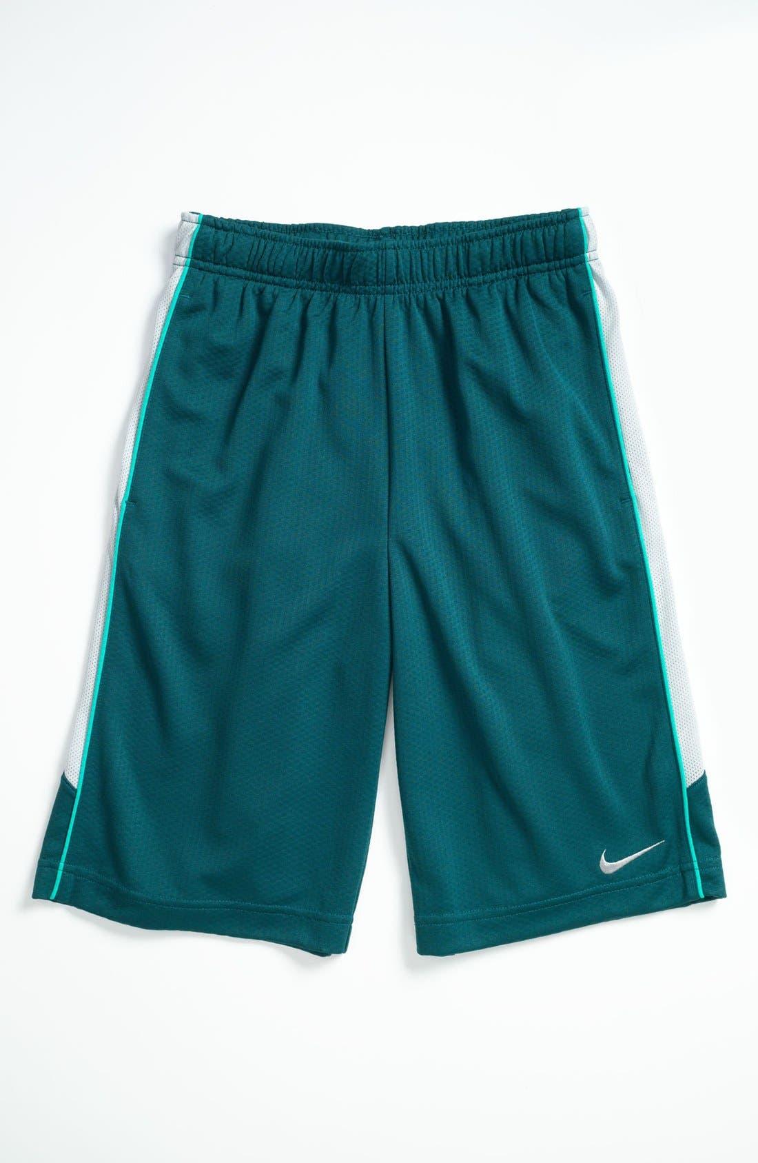 Main Image - Nike 'Aceler8' Shorts (Big Boys)