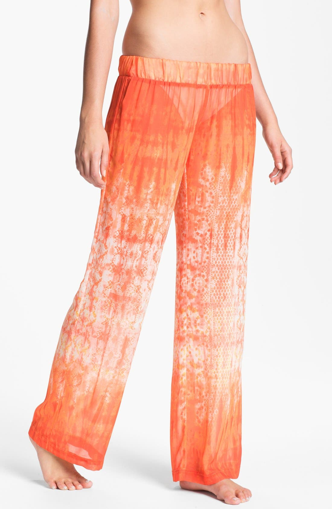 Alternate Image 1 Selected - Halogen 'On Holiday' Cover-Up Pants