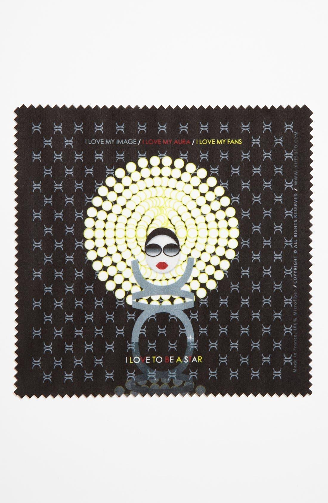Alternate Image 1 Selected - KUTSUTO 'Kutsinette - I Love To Be A Star' Microfiber Cloth