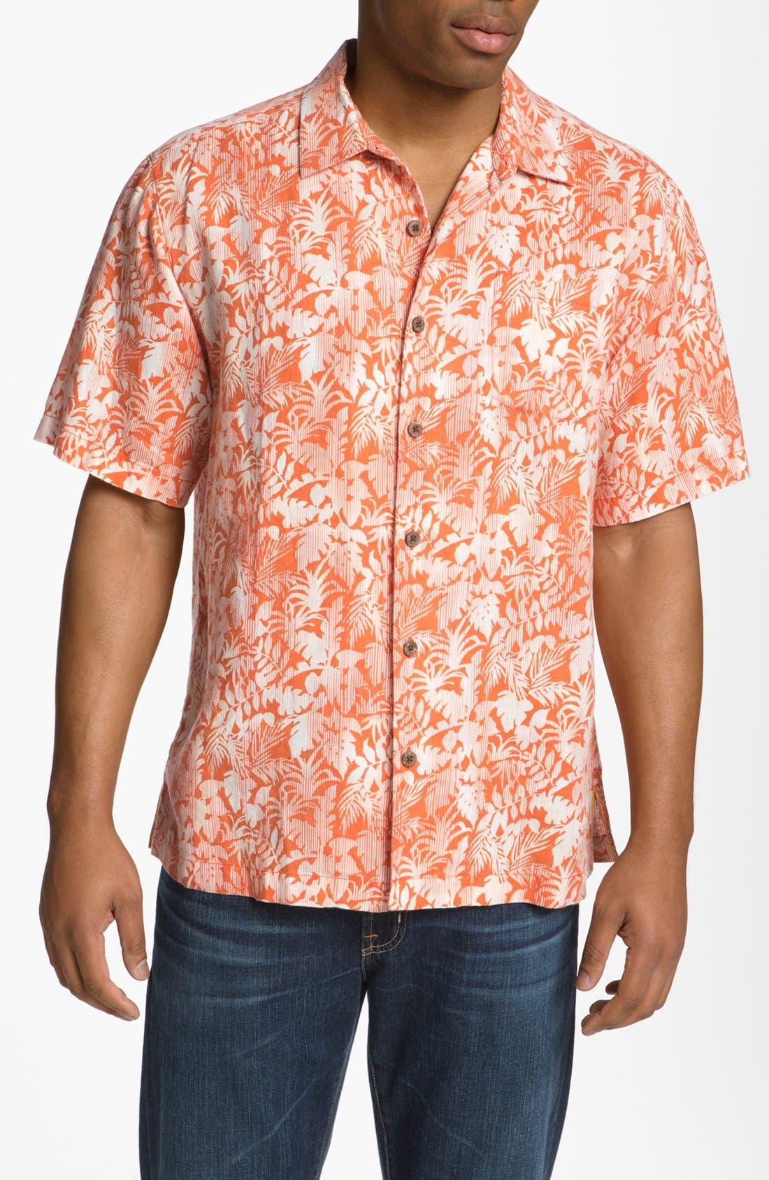 Alternate Image 1 Selected - Tommy Bahama 'Palma Sola' Campshirt