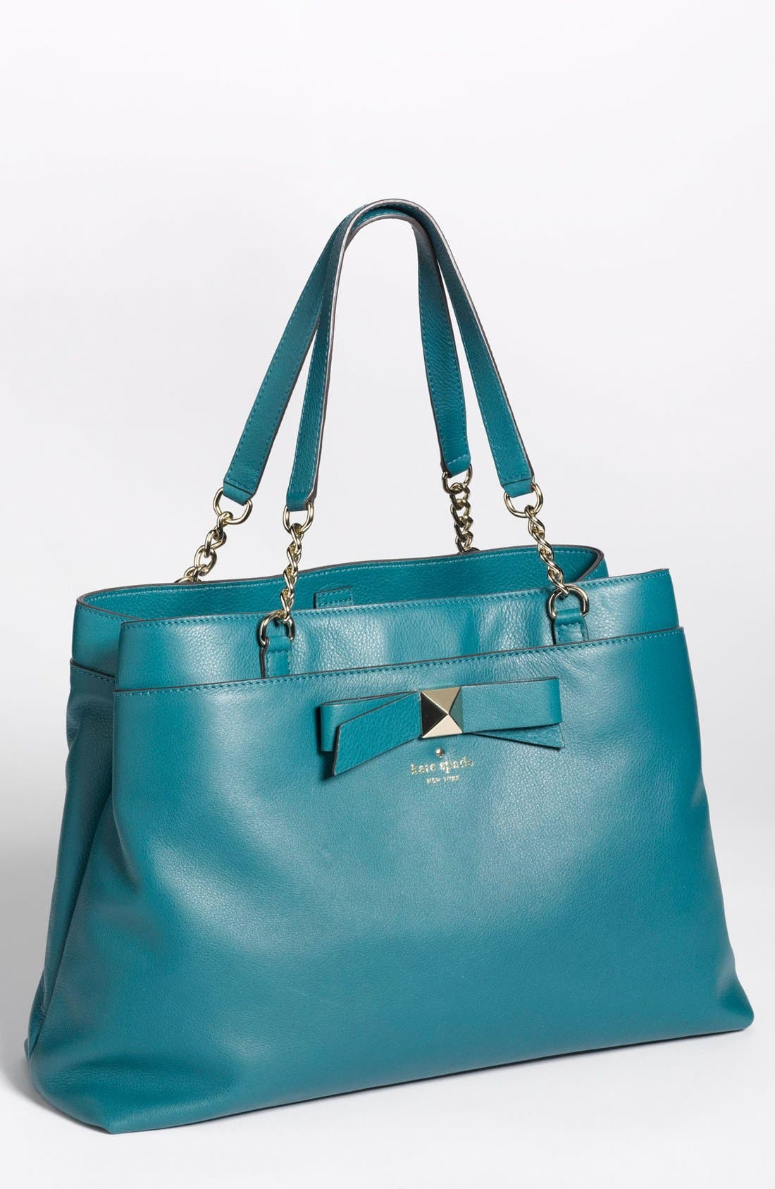 Main Image - kate spade new york 'hancock park - maryanne' leather bow shopper, large