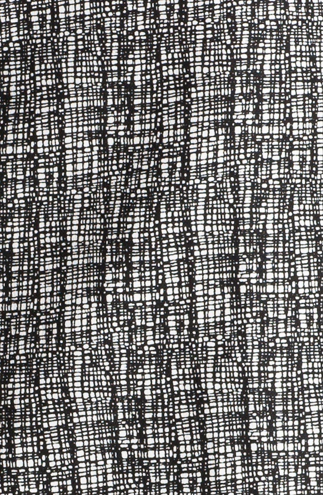 Alternate Image 3  - Halogen® Patterned Pencil Skirt (Petite)
