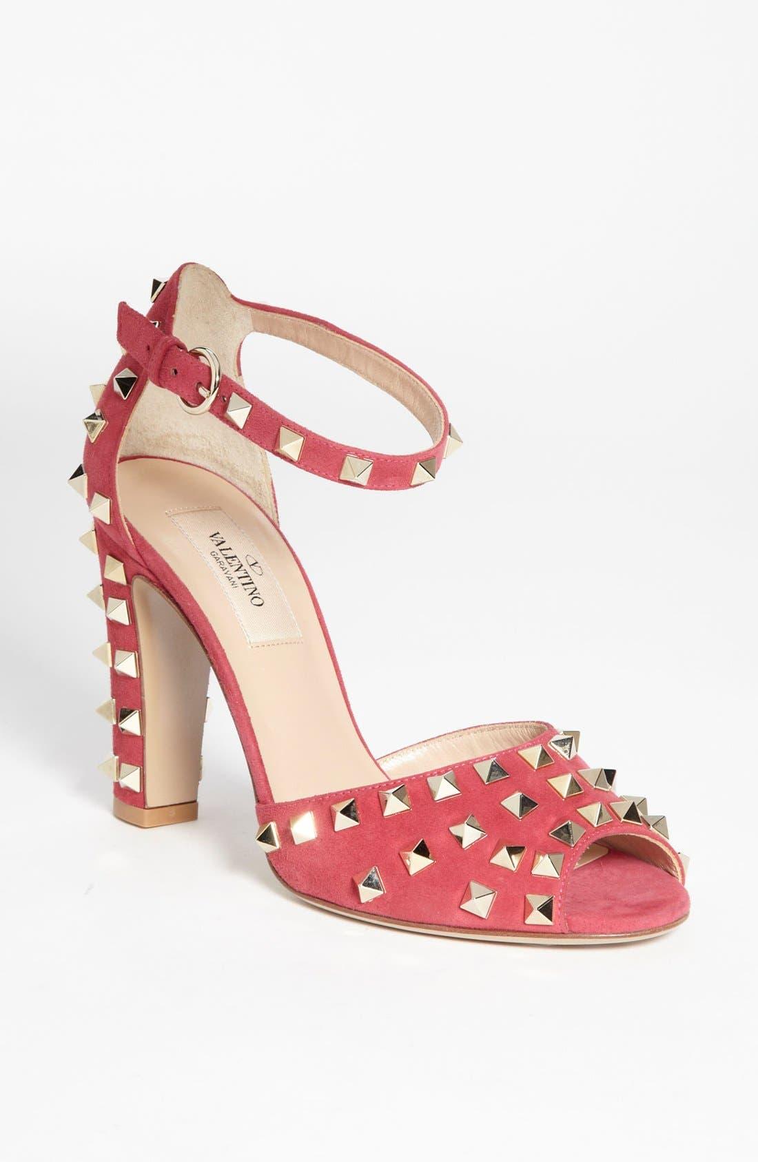 Alternate Image 1 Selected - Valentino 'Rockstud' Sandal