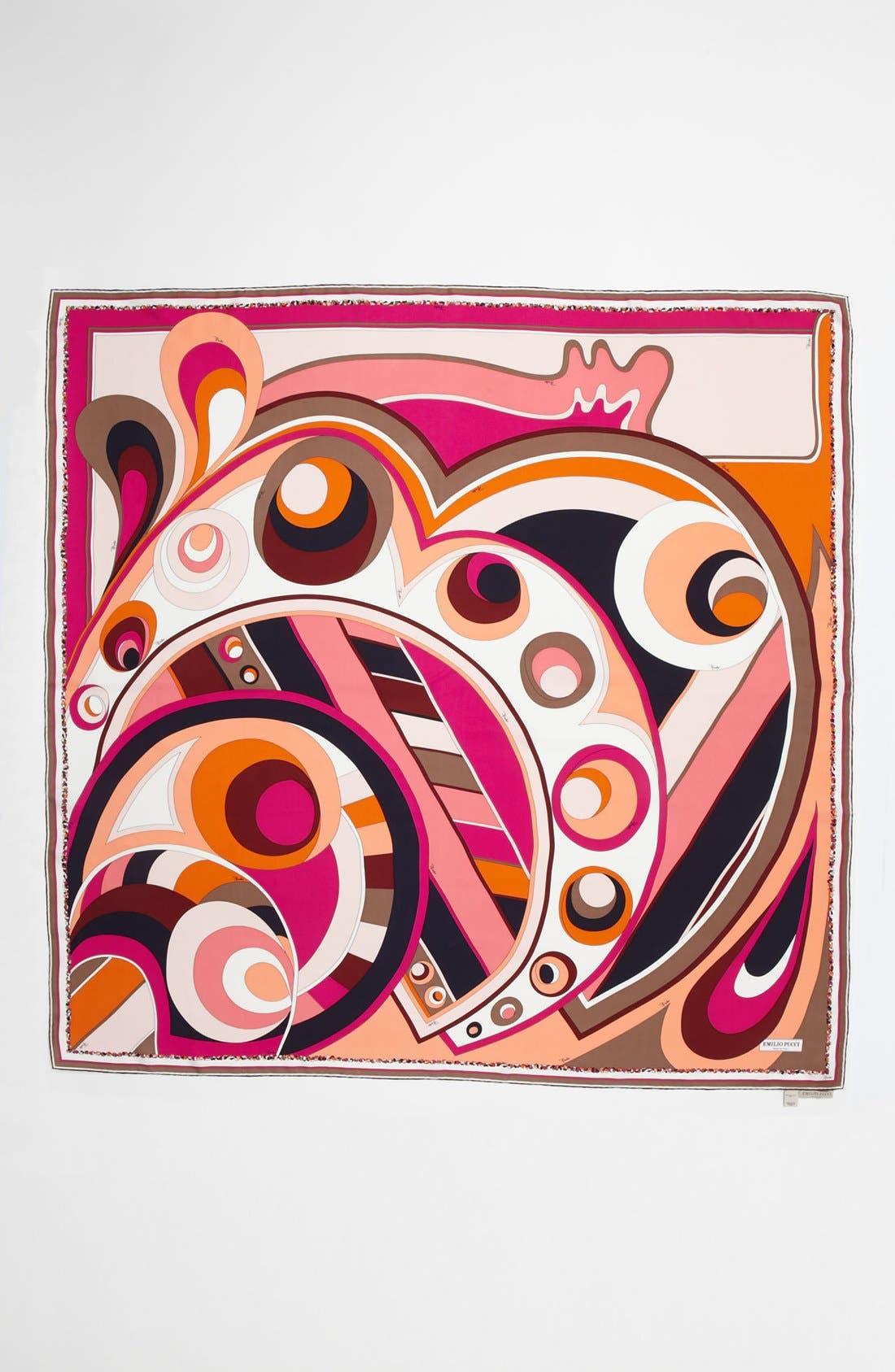 Alternate Image 2  - Emilio Pucci 'Circle Stripes Timeless' Silk Scarf