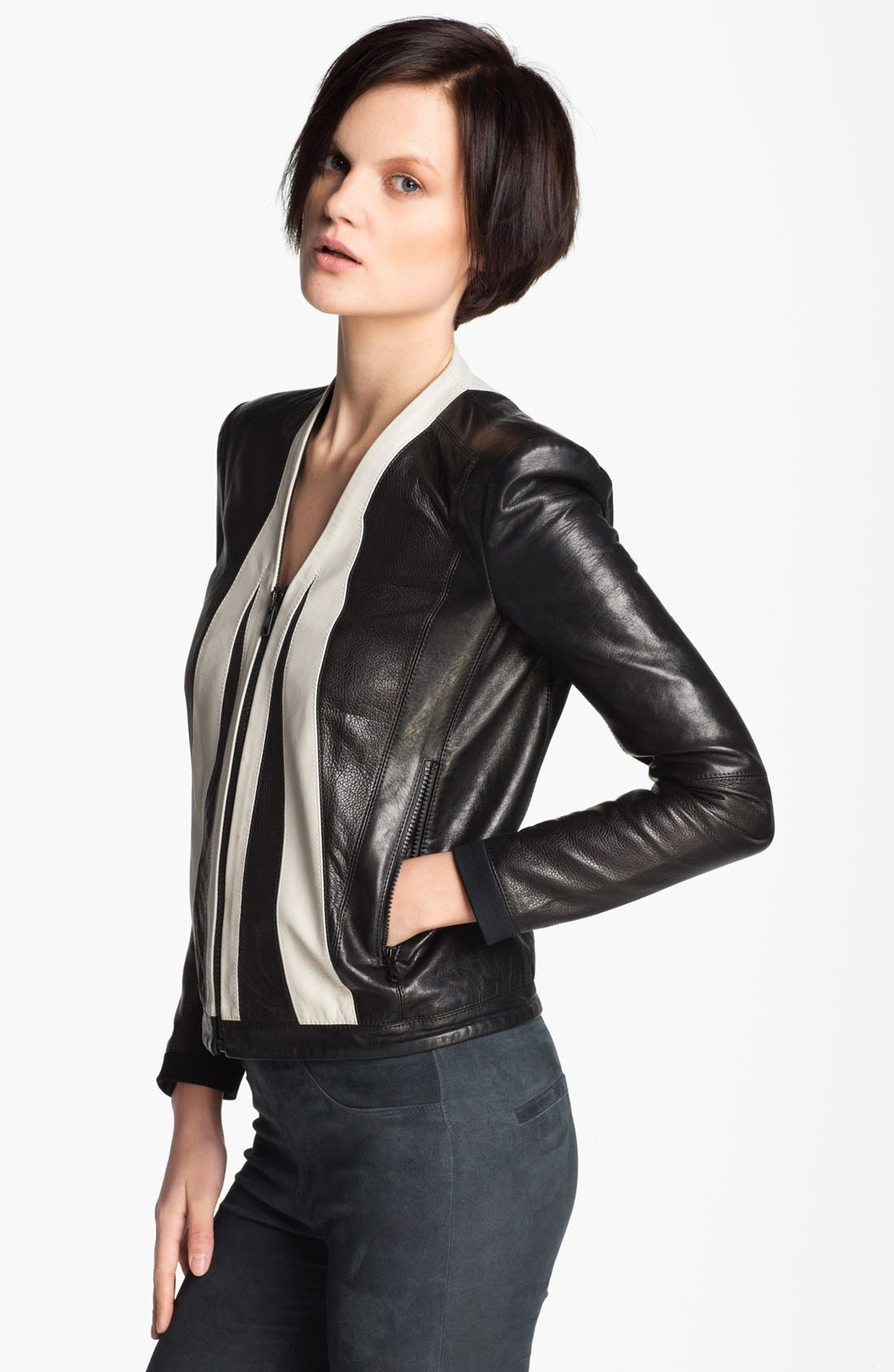 Alternate Image 4  - Helmut Lang 'Evolution' Leather Jacket