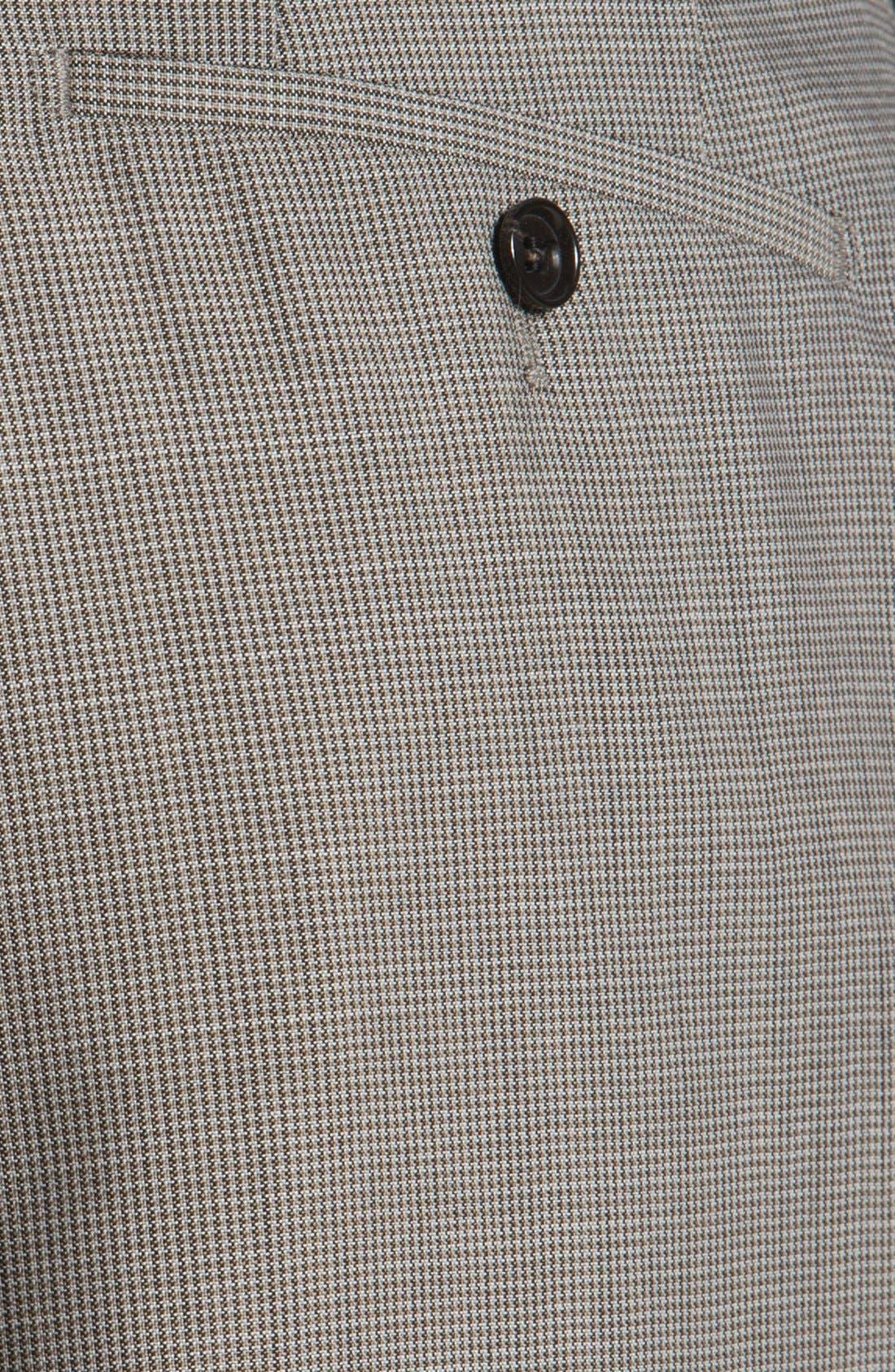 Alternate Image 3  - BOSS HUGO BOSS 'Jeffrey US' Flat Front Trousers