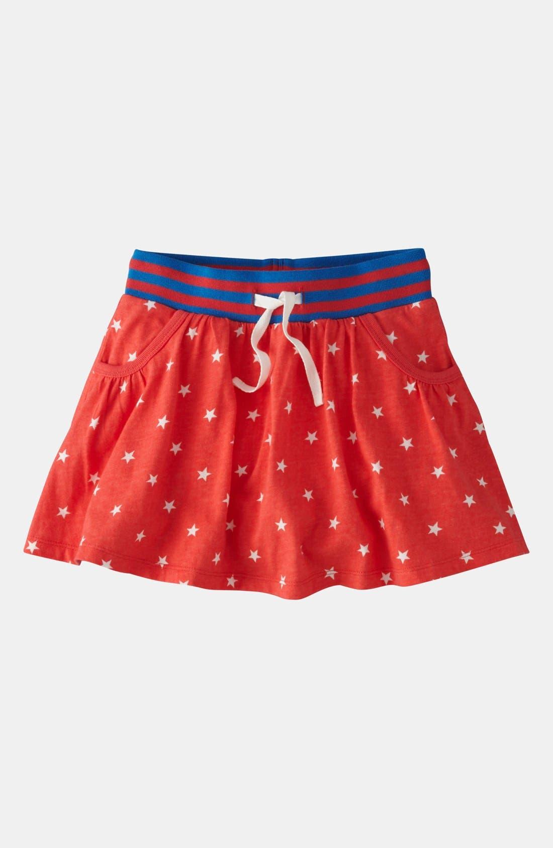 Alternate Image 1 Selected - Mini Boden Jersey Skort (Toddler)