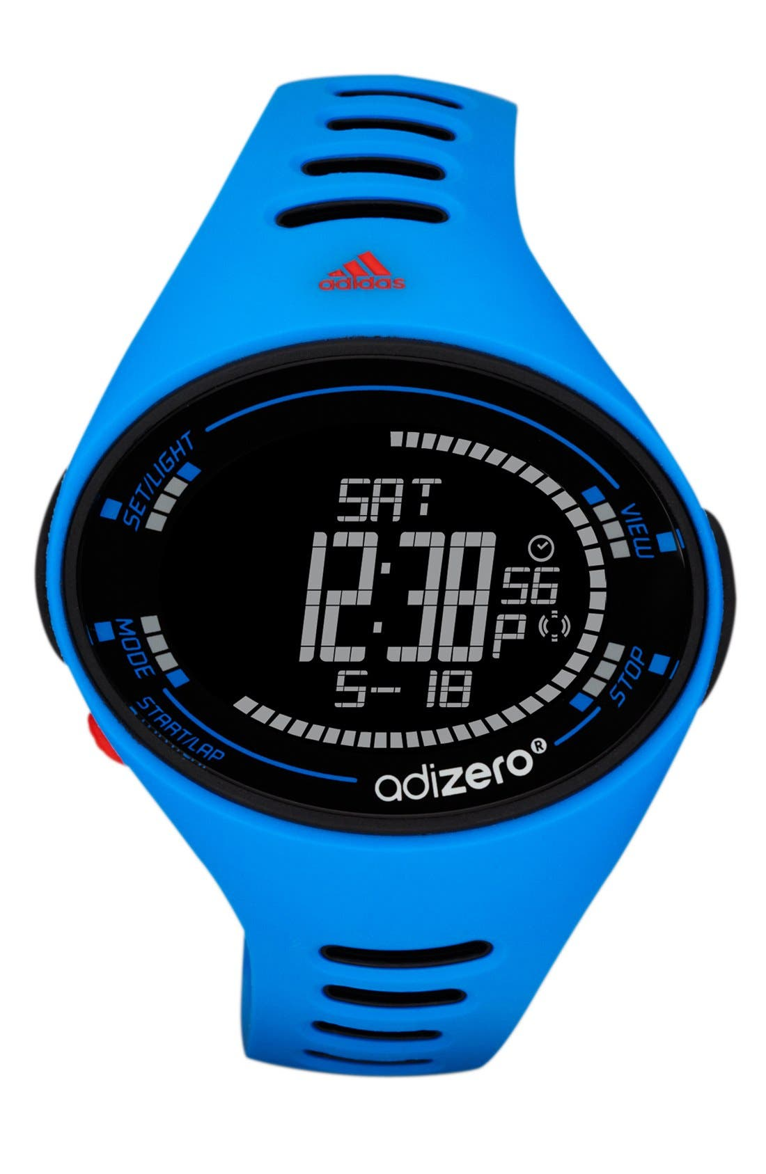 Alternate Image 1 Selected - adidas Performance 'adiZero' Digital Sport Watch, 49mm x 39mm