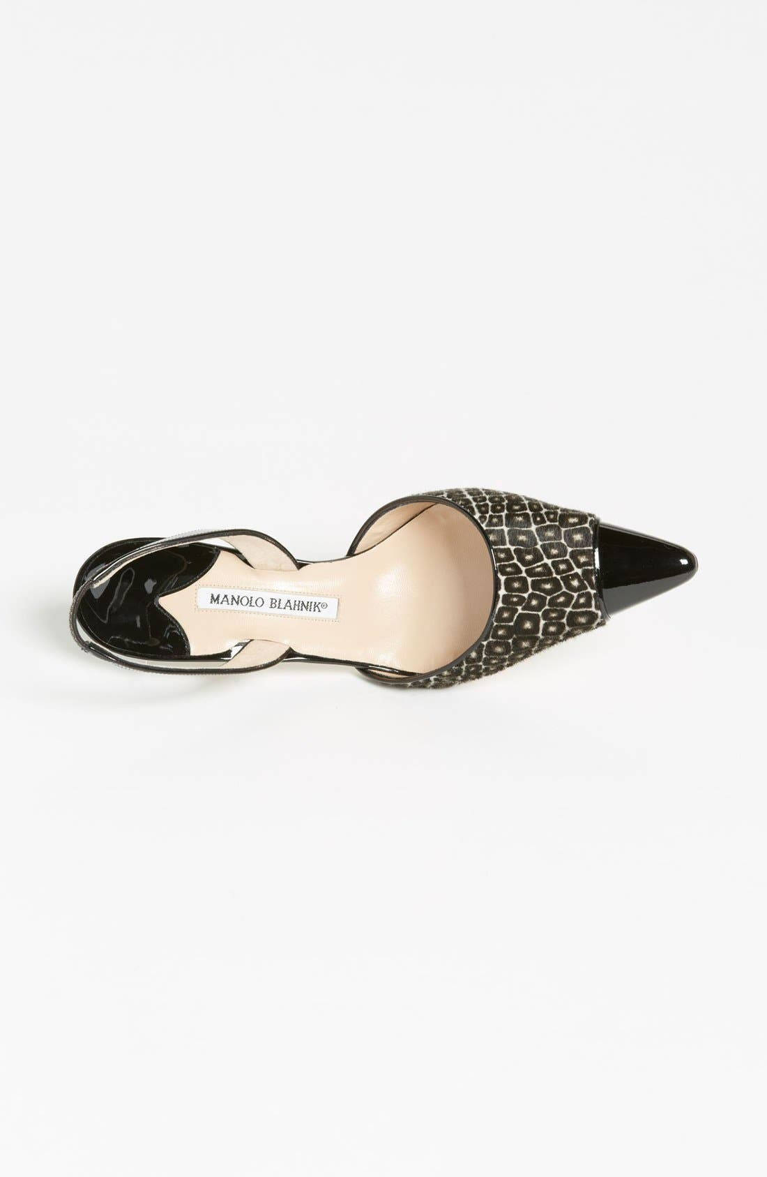 Alternate Image 3  - Manolo Blahnik 'Ploie' Slingback Pump