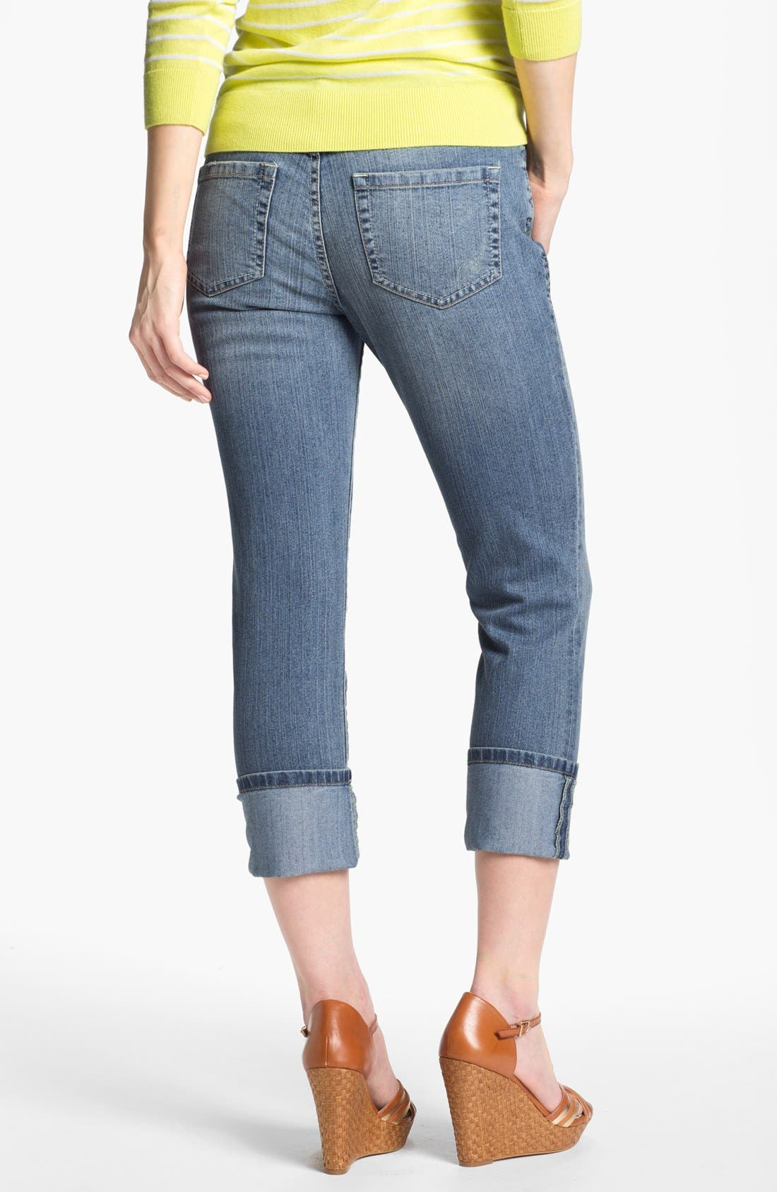 Alternate Image 2  - Jag Jeans 'Tommy' Skinny Crop Boyfriend Jeans