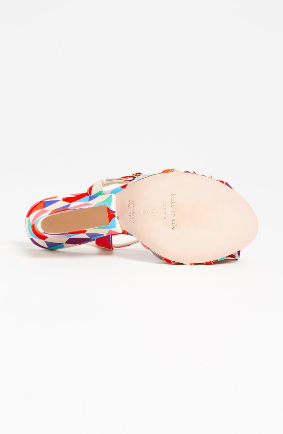 Alternate Image 4  - kate spade new york 'salem' wedge sandal