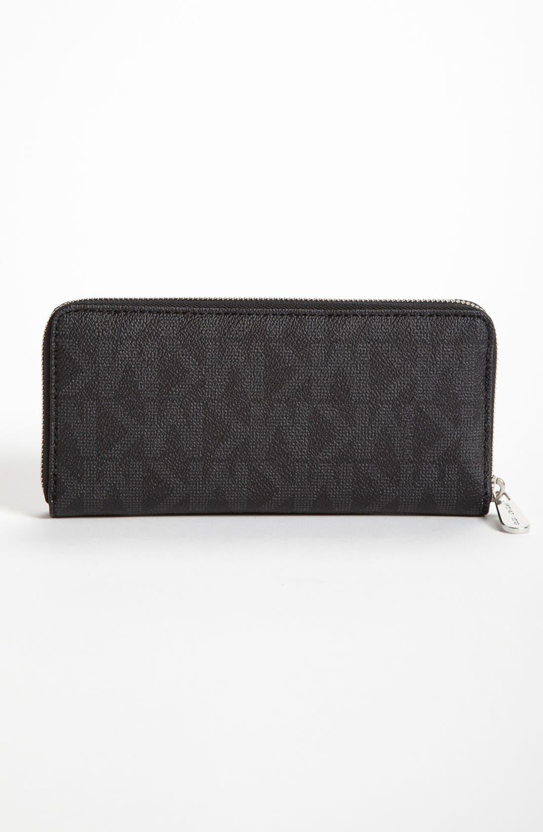 Alternate Image 3  - MICHAEL Michael Kors 'Signature' Zip Around Wallet