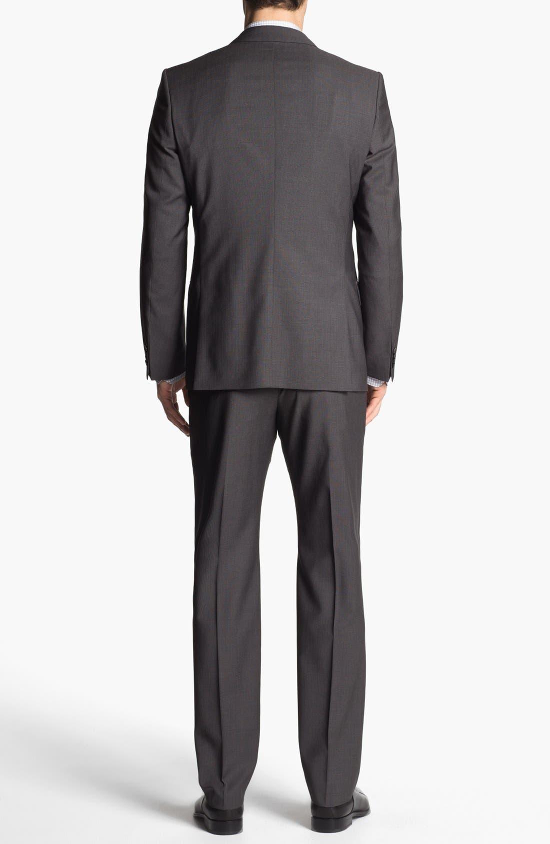 Alternate Image 3  - HUGO 'Amaro/Heise' Trim Fit Wool Suit