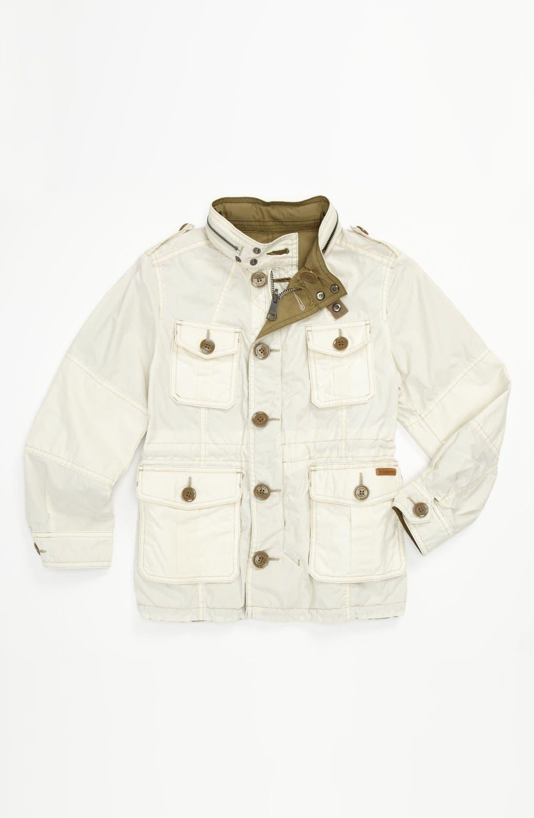 Alternate Image 1 Selected - Burberry 'Belfont' Reversible Jacket (Little Boys & Big Boys)