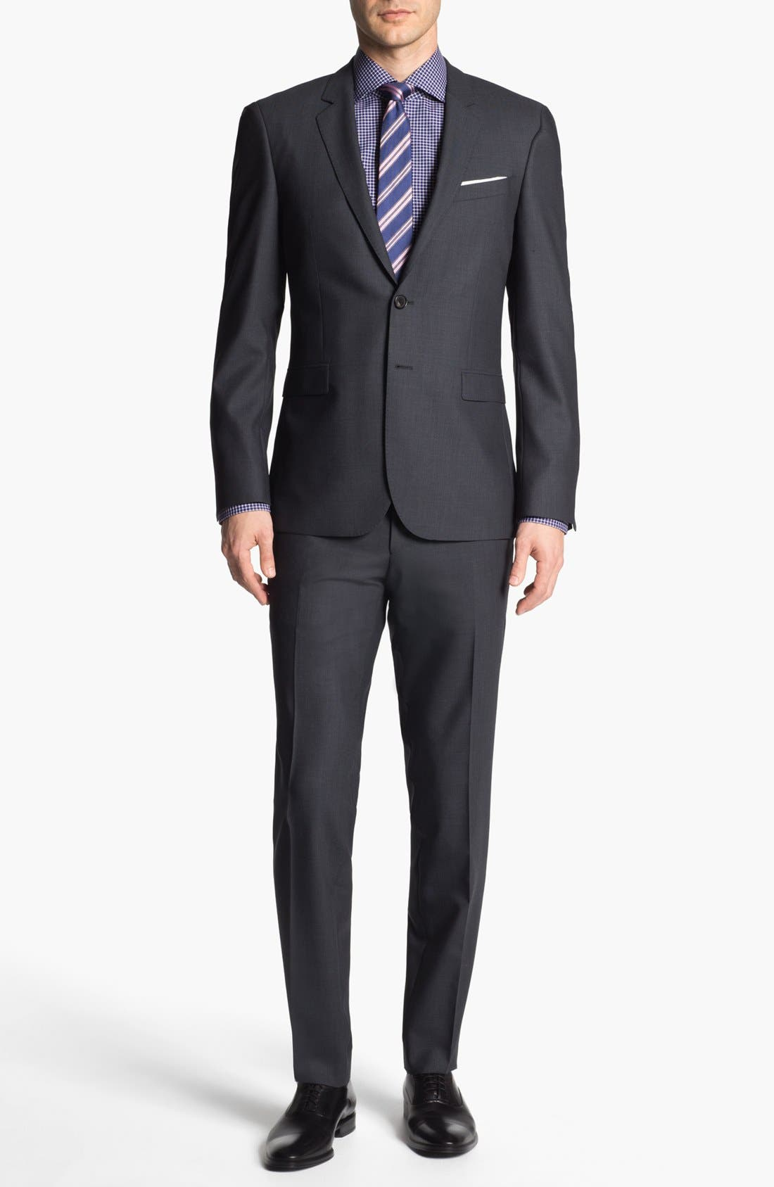 Main Image - BOSS HUGO BOSS 'Ryan/Win' Extra Trim Fit Suit