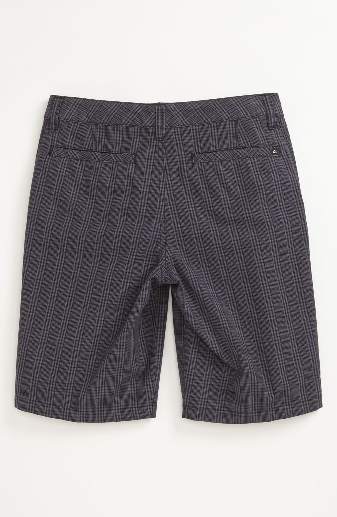 Alternate Image 2  - Quiksilver 'Agenda Suiting' Plaid Shorts (Big Boys)
