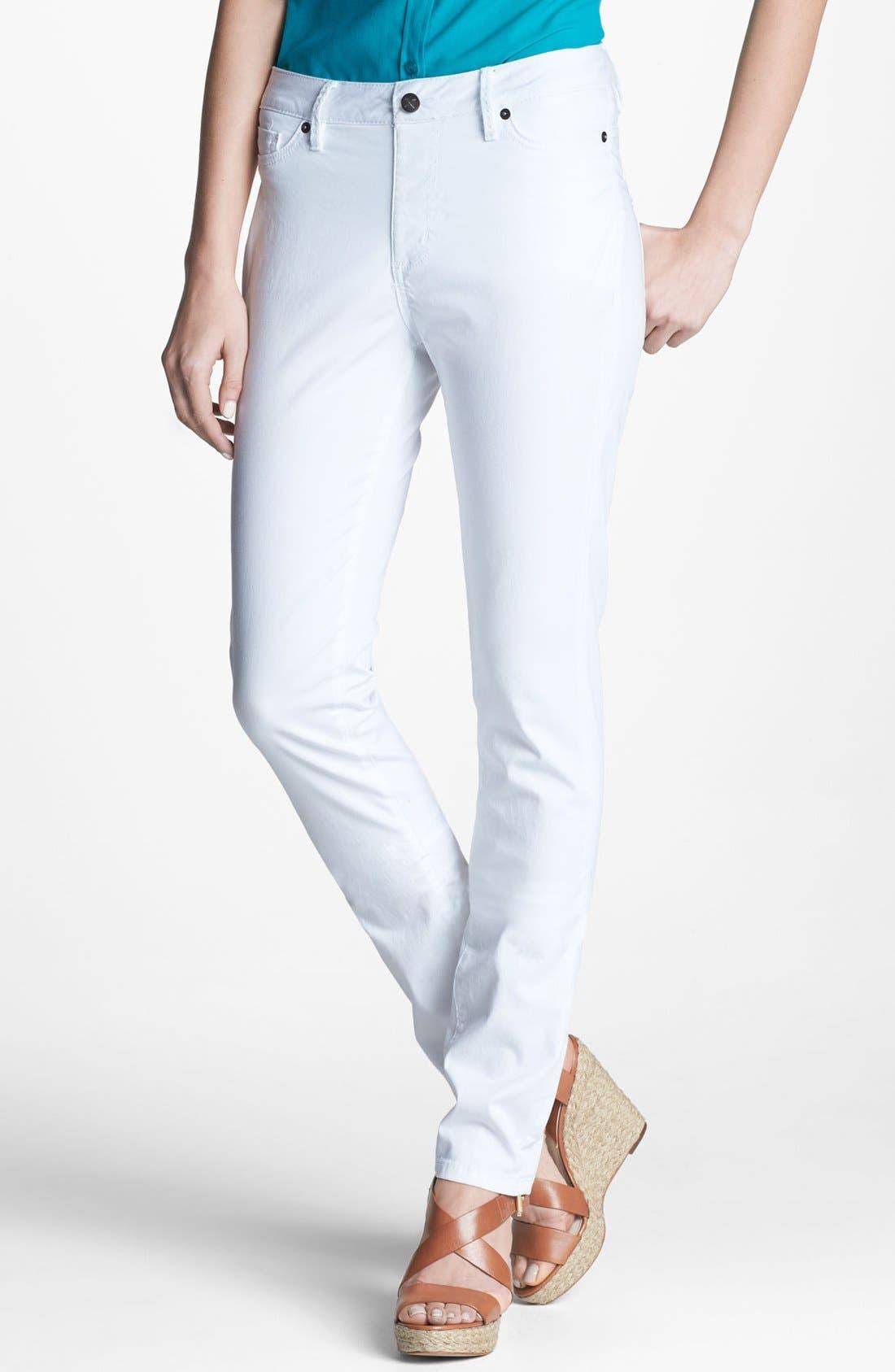 Alternate Image 1 Selected - Christopher Blue 'The Secret Lillian' Pull-On Skinny Jeans